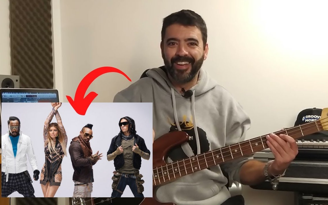 Como tocar Contrabaixo/Black Eyed Peas